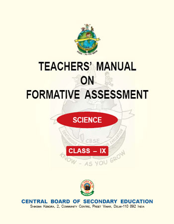 cbse-book-science-formative-assessment-manual-for-teachers